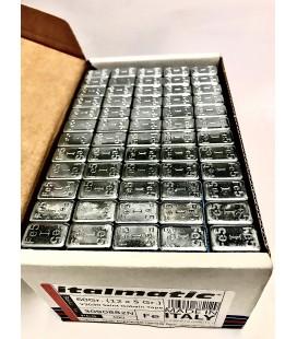 Pesi adesivi auto 5/5, 5/10 zincati con colla alta qualità Italmatic