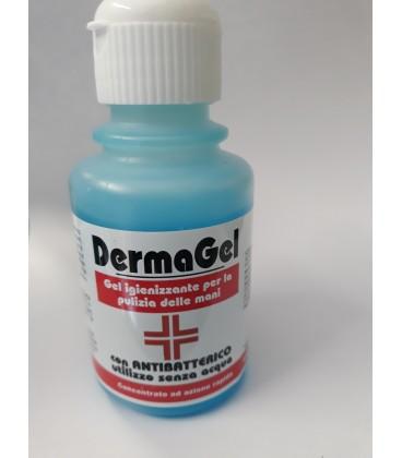 Soluzione gel disinfettante mani a base alcolica 100ml