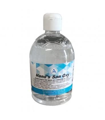 Gel igenizzante mani all'ossigeno attivo 500ml Aral