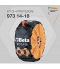 """Kit Beta per protezione pneumatici da 14"""" a 18"""""""
