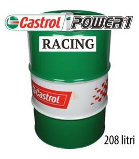 Lubrificante olio moto Castrol Power 1 Racing 4T 208 litri