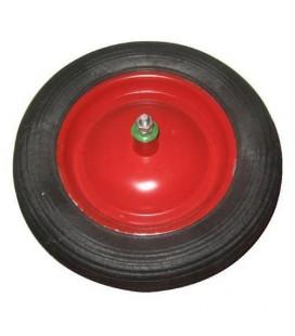 Kit pneumatico carriola 3.50-8 2 tele rosso mozzo