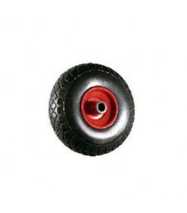 Kit carrello 300 4 tele ruota piena cerchio in plastica