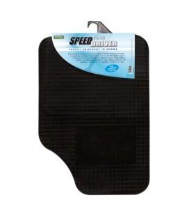 Set di 4 tappeti universali per auto in gomma