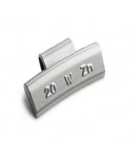 Pesi standard in zinco per cerchi in lega