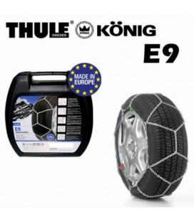 Catene da neve THULE-KONIG E9 per autovettura maglia 9mm
