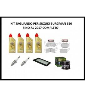 Kit tagliando per Suzuki Burgman 650 completo 2017