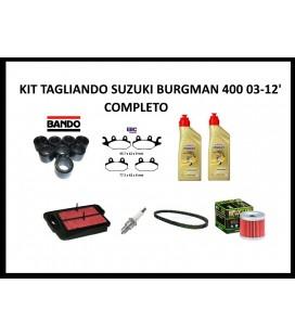 Kit tagliando Suzuki Burgman 400 anno 03-12' completo