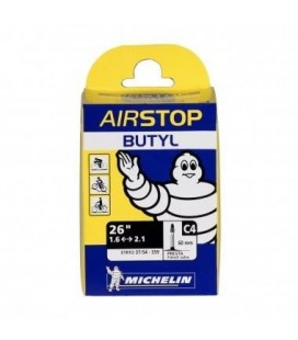 "Camera d'aria MTB MICHELIN AIRSTOP 26"" (C4 26X1,60/2,10 Butyl Presta 60mm)"